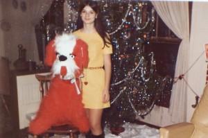 Huge red dog