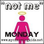 zNot Me Monday Button