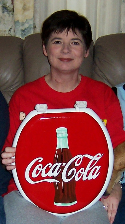 Charmant My Hand Painted Coca Cola Toilet Seat