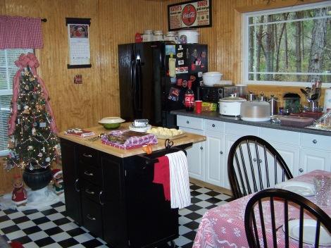 Coca cola Christmas kitchen...