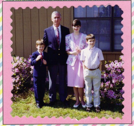 another yearly Easter photo...see how they grow!