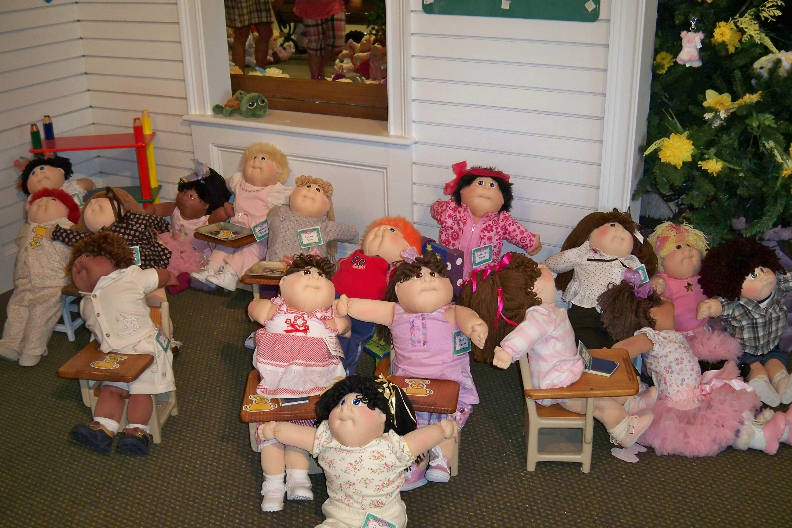 Cabbage Patch Kids Reflections By Kathy