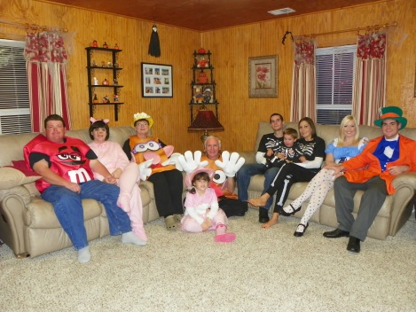 My Family...Halloween 2011