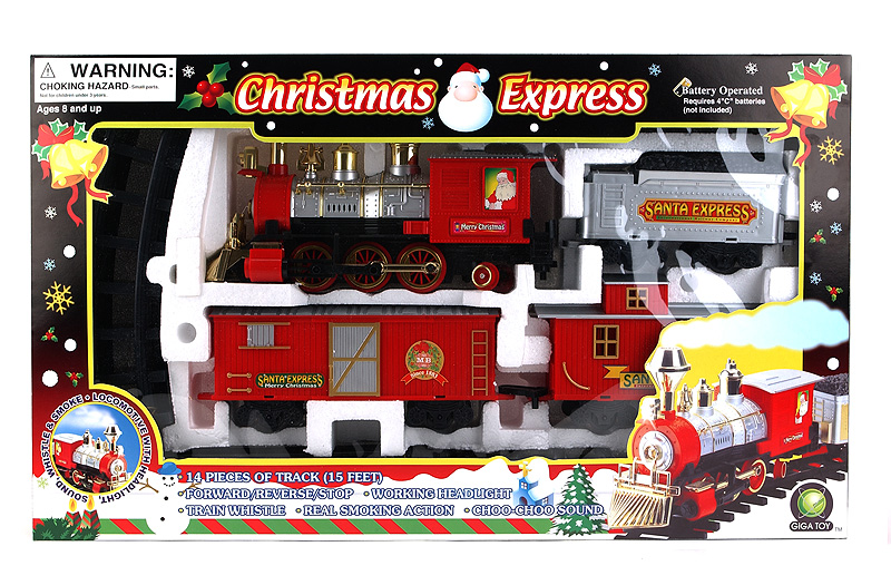 i bought a christmas train set - Train Set For Christmas Tree
