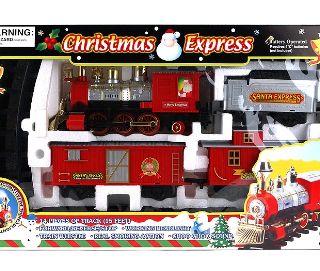 I Bought A Christmas Train Set