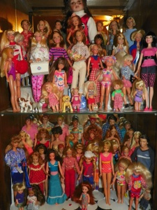 some of my older Barbie collection