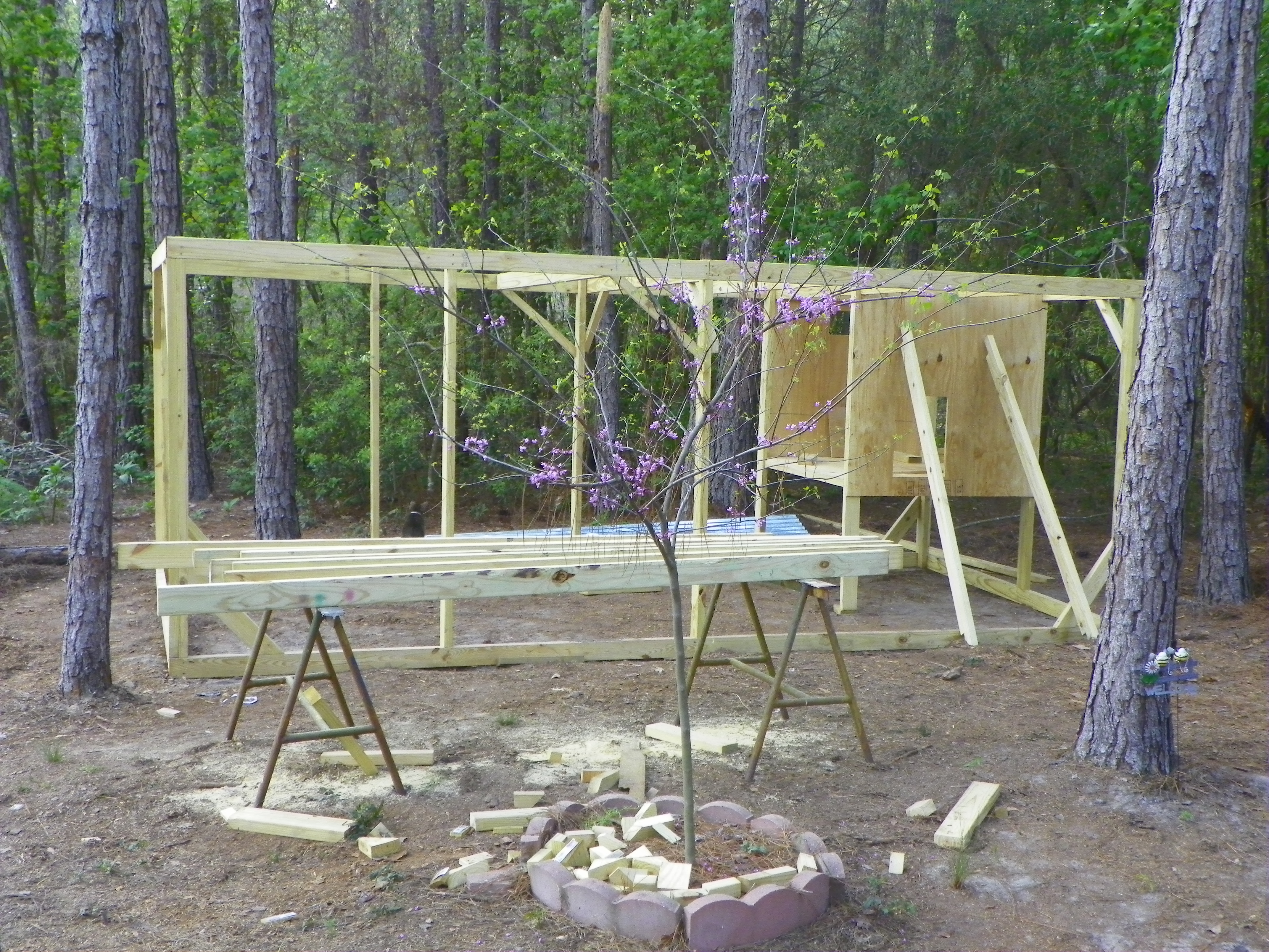 how to build a fox proof chicken coop