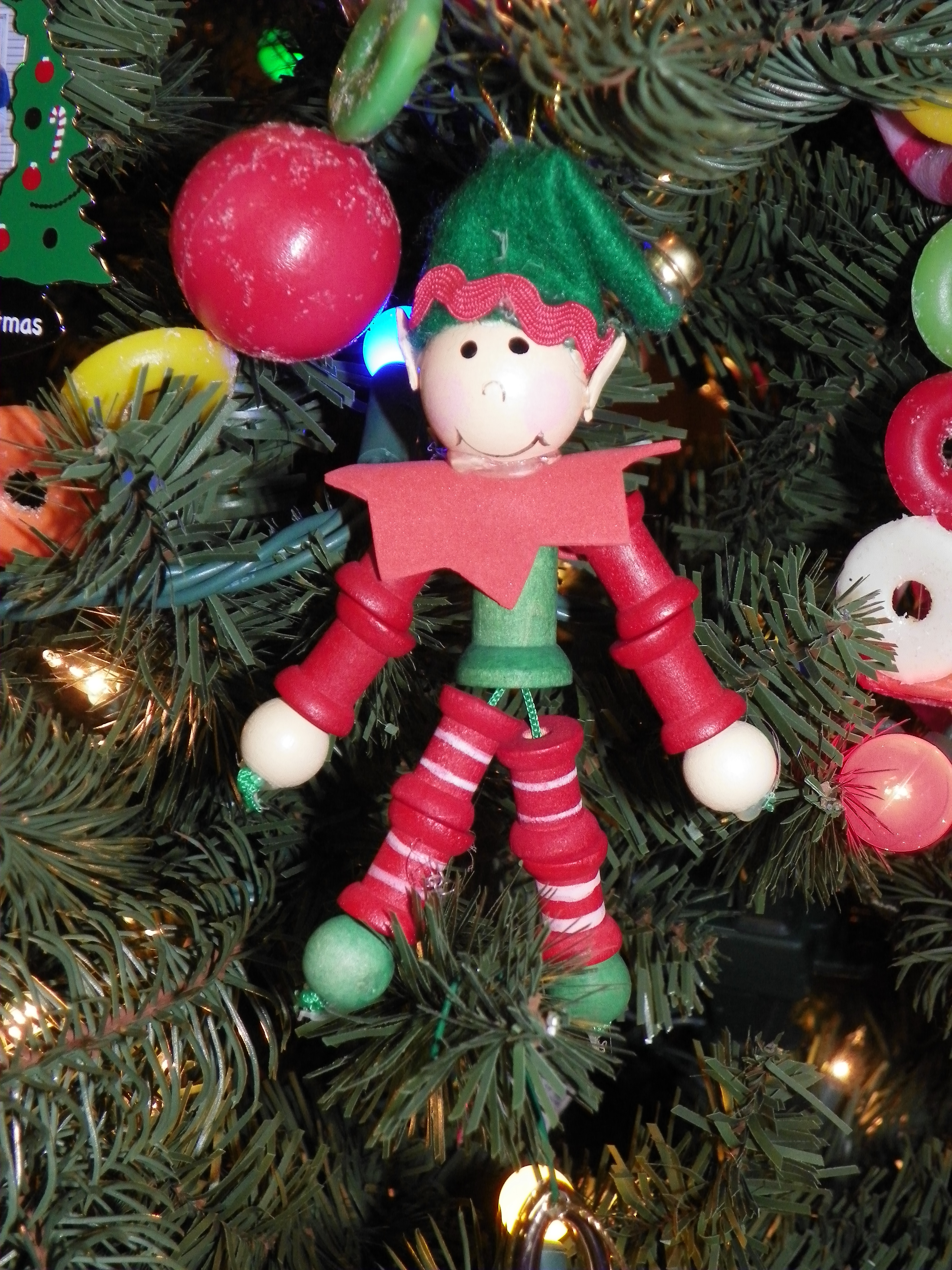 During The Last Of Those Fourteen Years, I Helped Each My Students Make Christmas  Ornaments For Their