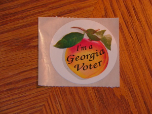 004 voter sticker